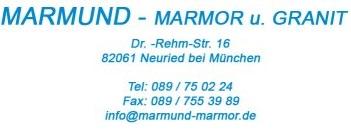 Marmund-Marmor u. Granit Logo